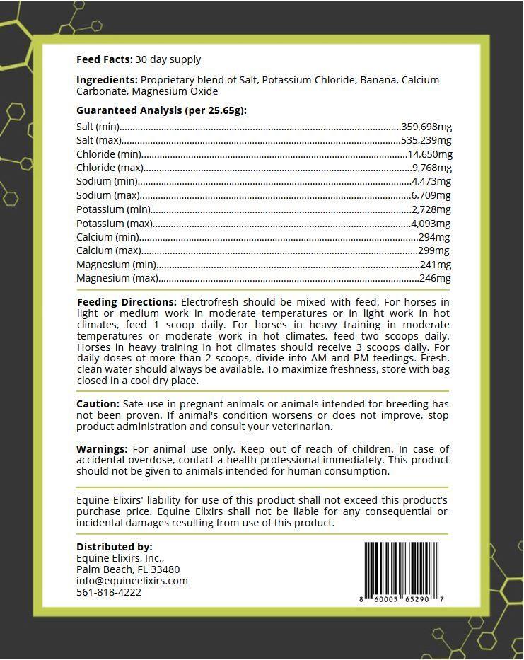 Electrofresh Label
